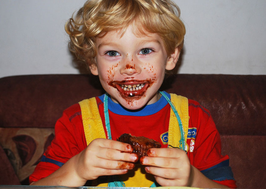 boy-tasting-chocolate